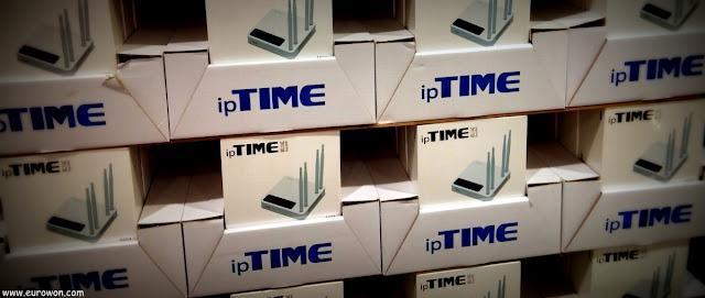 Routers coreanos de IPtime