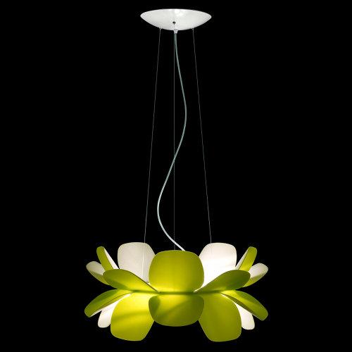 Green And White Pendant Source: Http://homebuildanddesign.com/home Interior/ Lighting/modern Lighting Design By Enrico Zanolla/ Green Pendant Source: ...