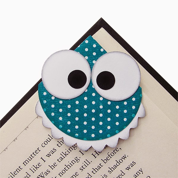 Paper Crafts - Monster Bookmark