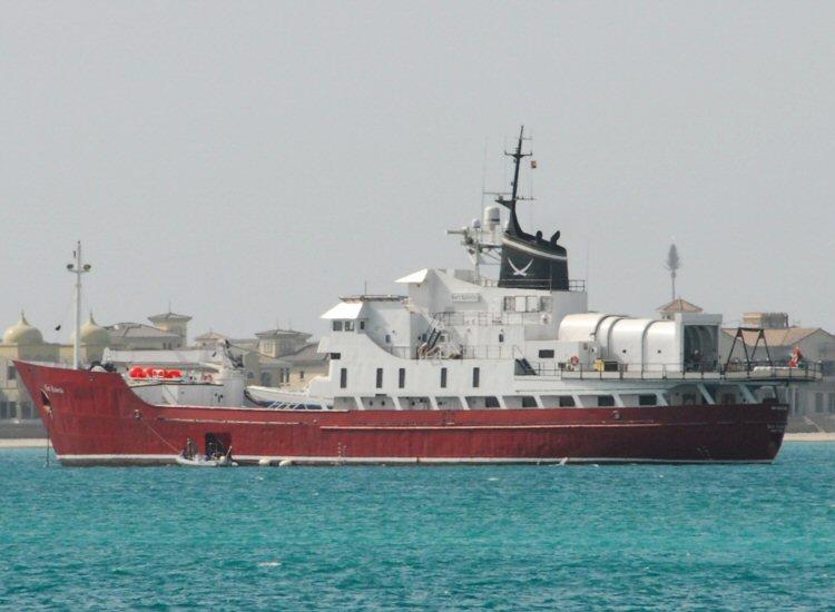 Megayacht BART ROBERTS