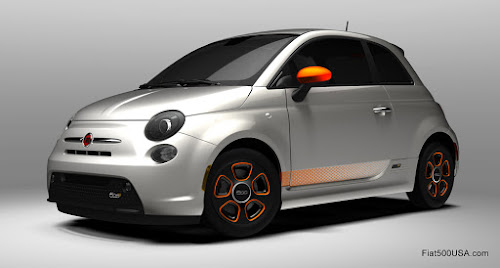 Fiat 500e with e-Sport Package