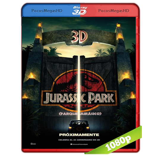 Parque Jurasico (1993) 3D SBS BrRip 1080p Audio Dual Latino/Ingles 5.1