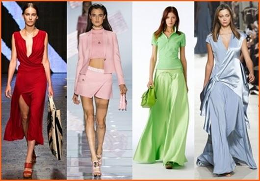 Mode Germany: Frühjahr/Sommer Farben Trend 2015
