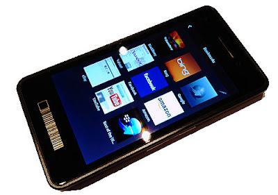 BlackBerry Dev Alpha 10, the RIM touchscreen phone for developers only