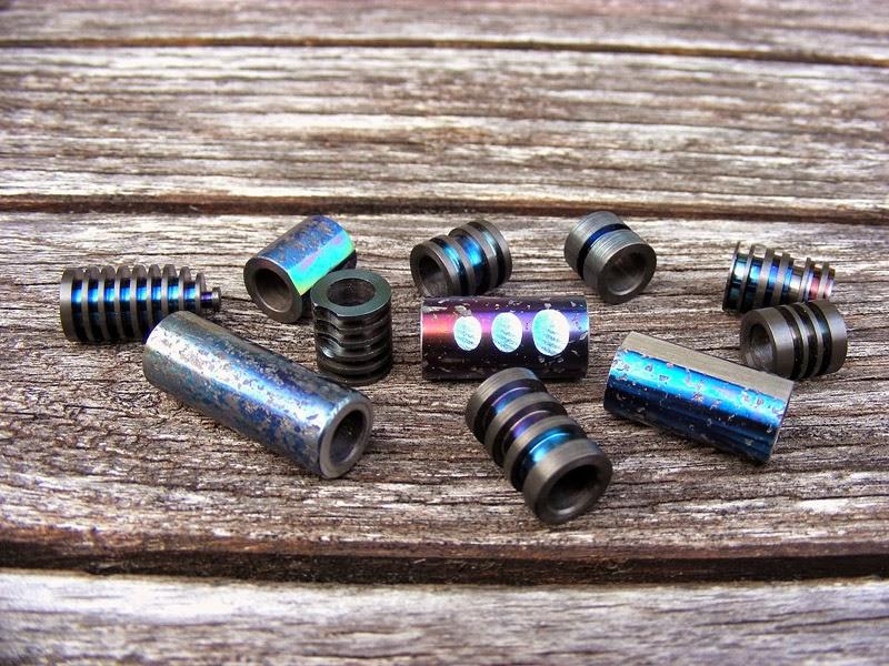 how to make titanium beads