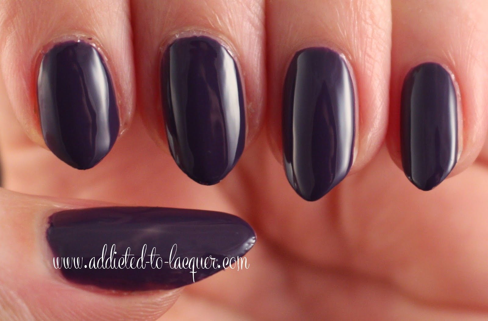 Addicted to Lacquer: Kinetics Nail Color - Ice Smoothie