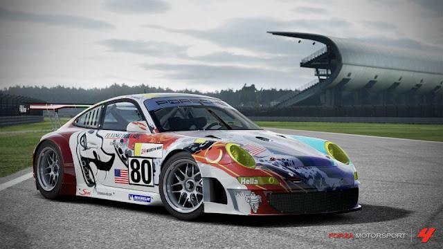 Paquete porsche 2007+%2380+Flying+Lizard+911+GT3-RSR