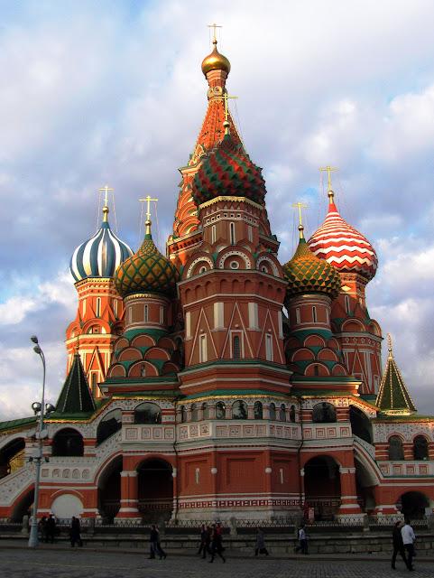 Москва, Собор Василия Блаженного на Красной плошади