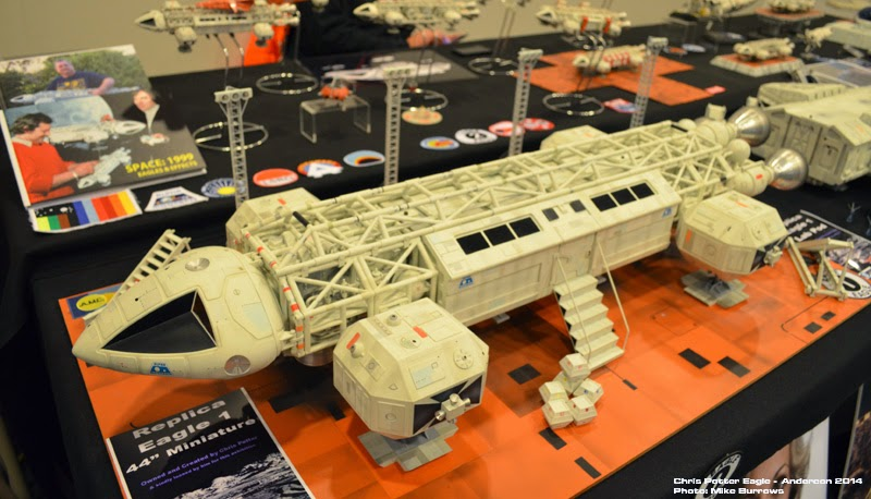 SPACE 1999 MODELS AT ANDERCON