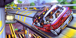Epcot Center Parque Test Track