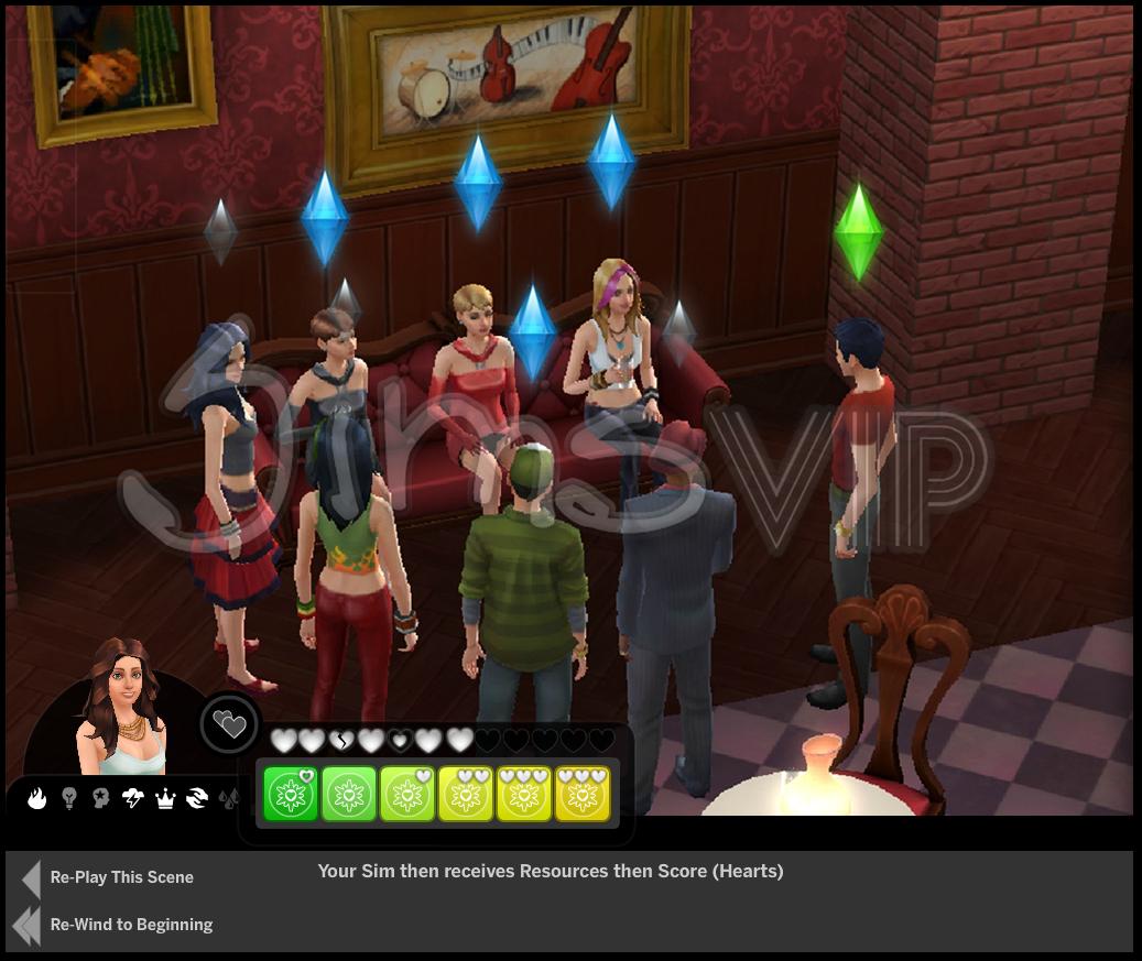 Conceitos da interface de the sims 4 news daily sims for Online games similar to sims