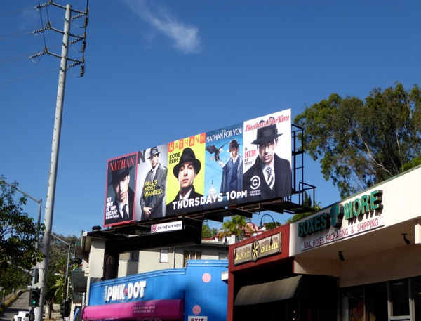 Nathan For You season 3 Blacklist billboard