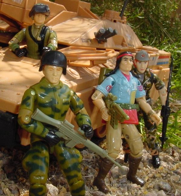 1984 Ripcord, 1985 Mauler, 1983 Steeler, Spirit Iron Knife, 1998 Volga, Oktober Guard