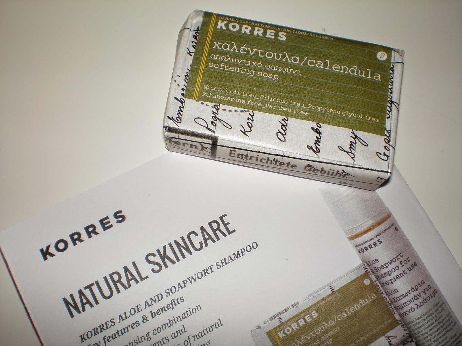KORRES Calendula soap