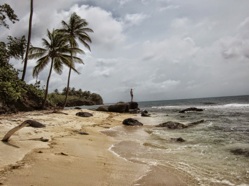 Playa del norte de Little Corn Island