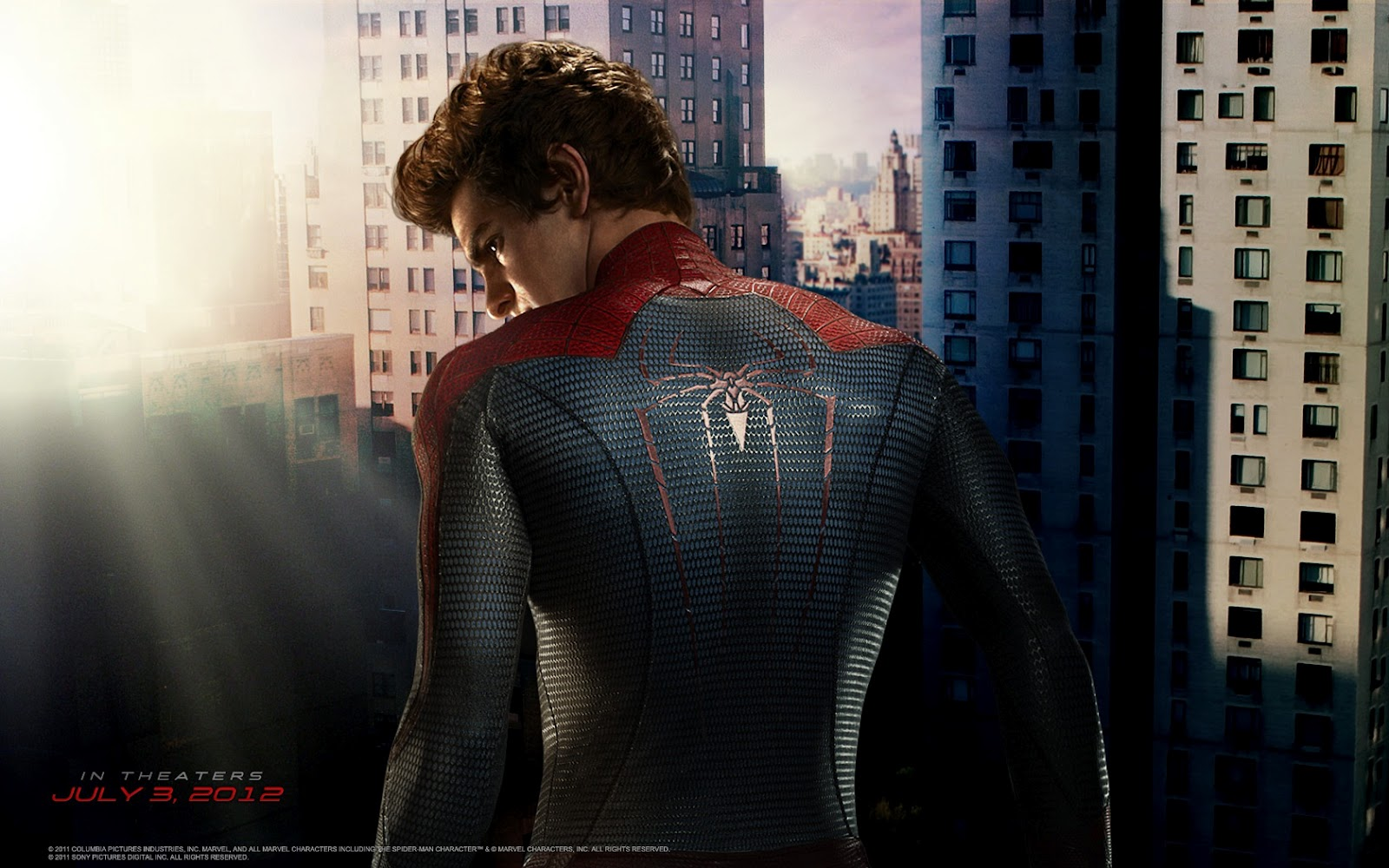 Here Are New Desktop Wallpapers For The Spider Man Rebbot Simply Called Amazing Film Stars Andrew Garfield As Peter PArker