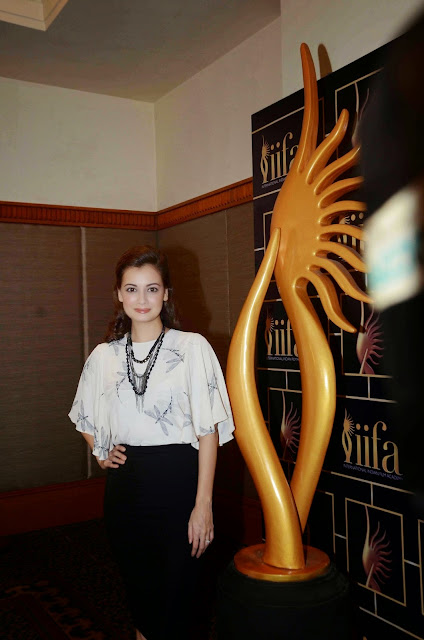 Dia Mirza Looks Smoking Hot At The 16th IIFA Awards 2015