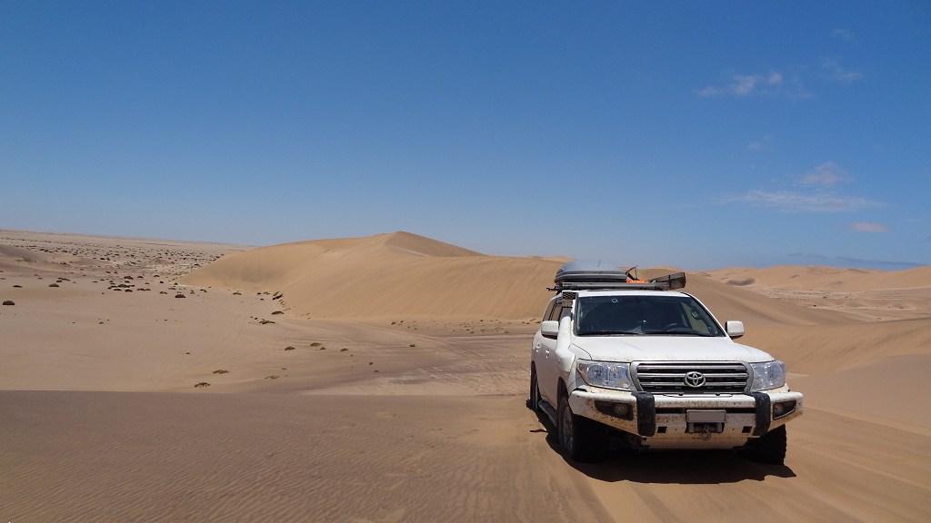 4x4 Erfahrungen erfahren - in den höchsten Dünen Afrikas mit dem Geländewagen