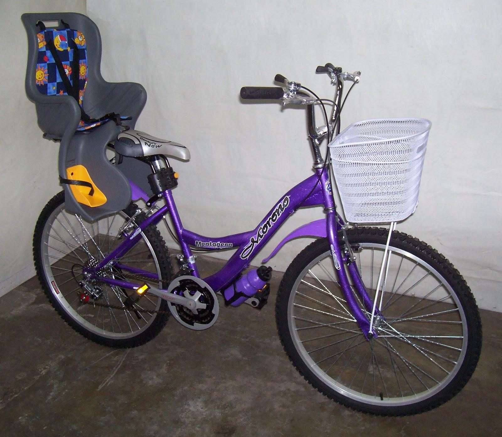 Silla porta bebe p ra bicicleta made in taiwan s 179 00 en mercado libre - Silla bebe bicicleta delantera ...