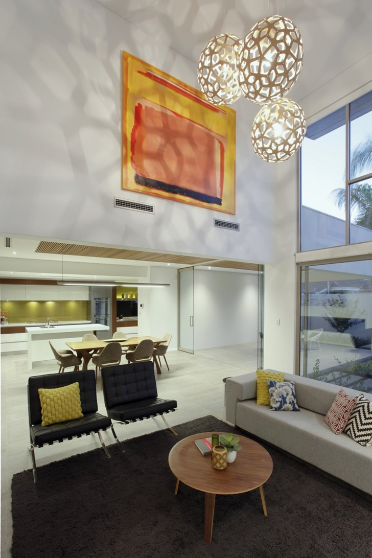 Modern furniture in Contemporary style One27 Grovedale home by Mick Rule