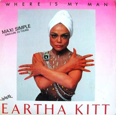 EARTHA KITT – Where Is My Man [In The Mix](Maxi Single) 1983