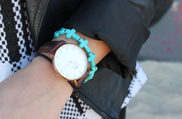 Sweet Monday, outfit, Daniel Wellington