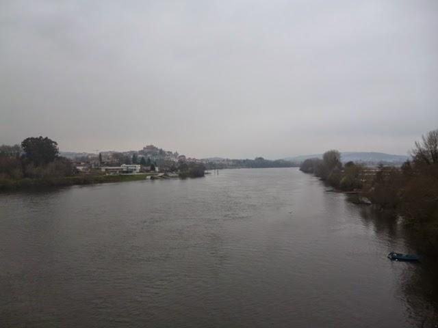 Río Miño y Tui desde el Puente Internacional