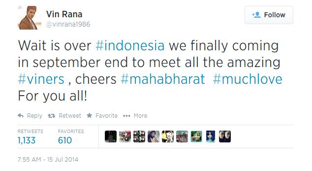 pemain mahabharata ke indonesia