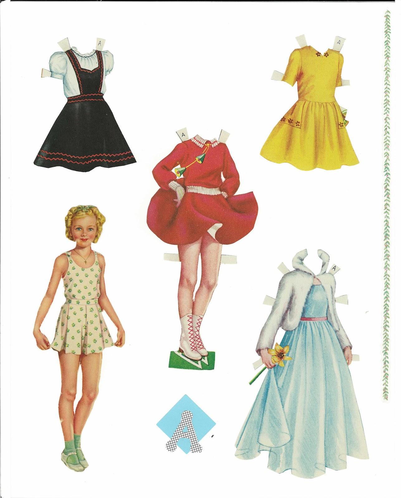 Miss Missy Paper Dolls: Sweetheart paper dolls cut