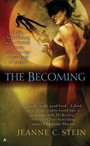 Portada de The Becoming, de Jeanne C. Stein