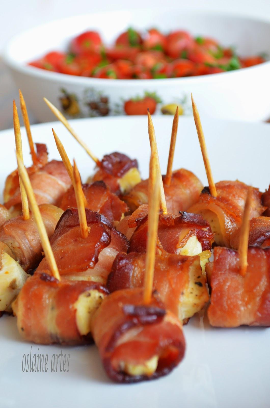 Enroladinho de Frango com Bacon
