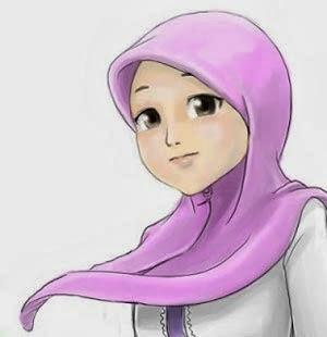 Gambar Kartun Wanita Cantik