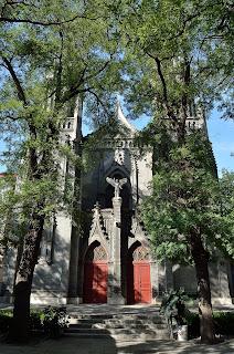 St Michael's church in Beijing on Dongjiaomenxiang
