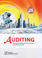 toko buku rahma: buku AUDITING Petunjuk Praktis Pemeriksaan Akuntan oleh Akuntan Publik, Buku 2, pengarang sukrisno agoes, penerbit salemba empat