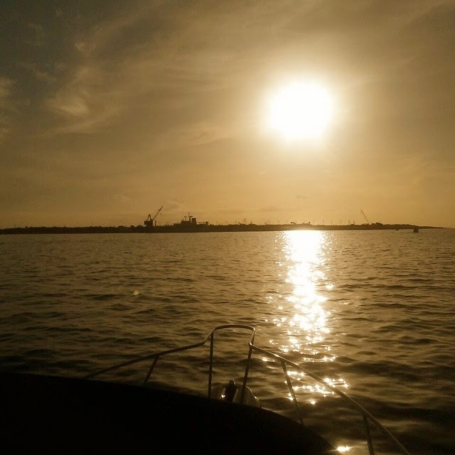 Sunrise at Port Canaveral