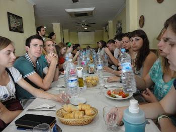 En la cafeteria valenciana