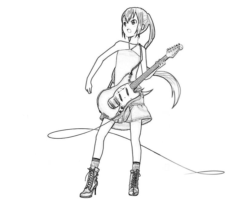 printable-k-on-after-school-live-azusa-nakano-style_coloring-pages