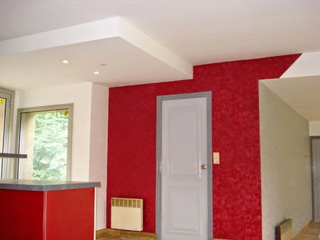 Artisan peintre professionnel paris l 39 artisan peintre for Peinture rouge salon