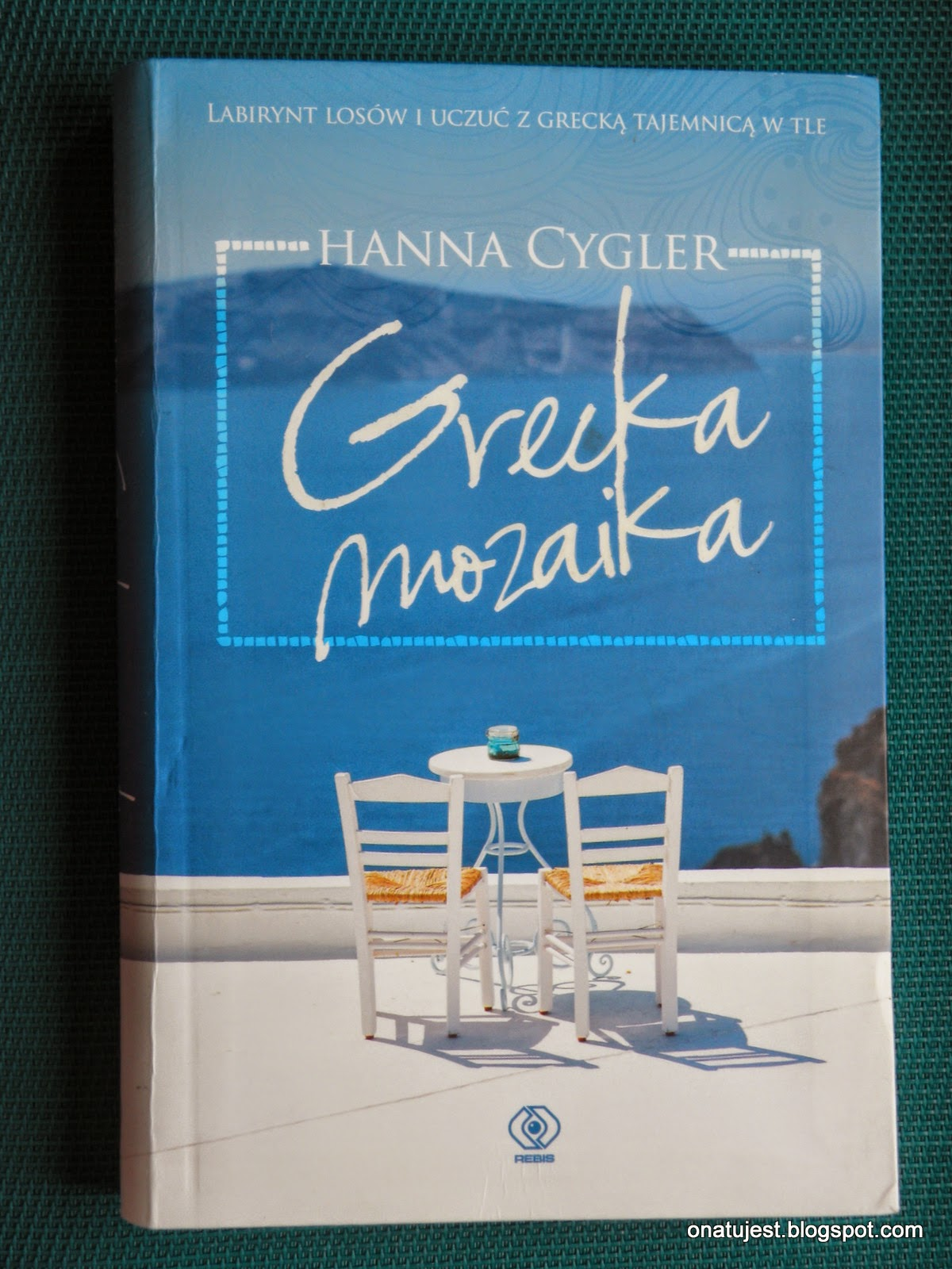 "Hanna Cygler ""Grecka mozaika"""