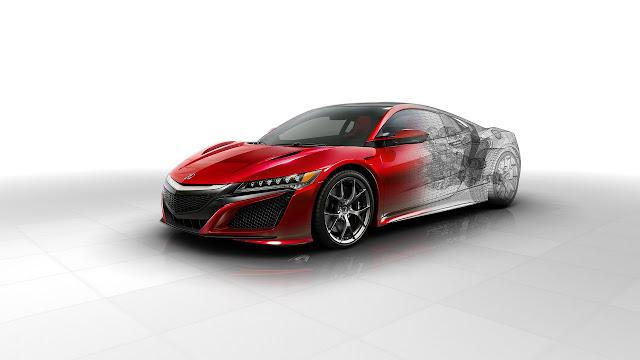2016 Acura Nsx Technica