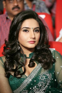Actress Ragini Dwivedi  Pictures in Saree at Jenda Pai Kapiraju Audio Launch 0004