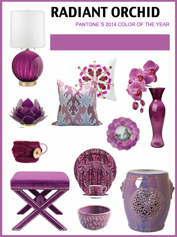 radiant orchid, pantone color, design