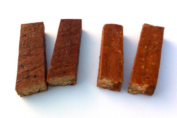 Topas Spacebar vegan meat-free snack bars