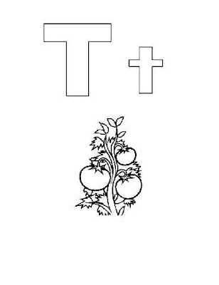 Preschool Coloring Pages,Alphabet Coloring Pages