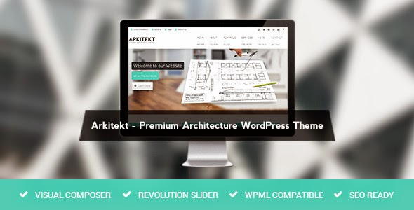 Arkitekt Premium Architecture WordPress Theme