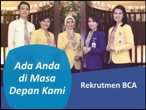 Lowongan Bank, Lowongan BCA, Lowongan Perbankan, Lowongan frontliner