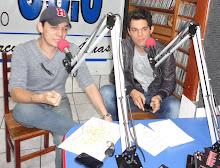 Leo & Júnior ao vivo na Radio Circuito das Águas FM em 18/06/2012