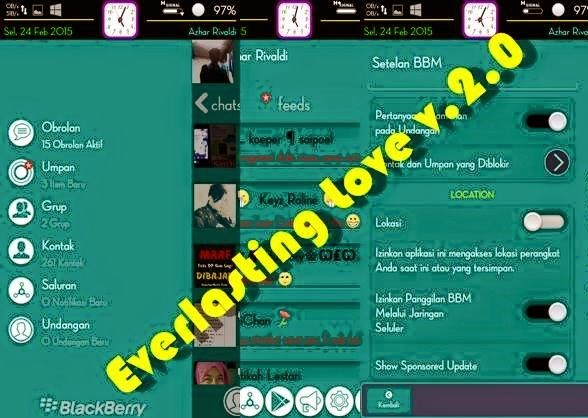 BBM Everlasting Love v2.0 Green Moment