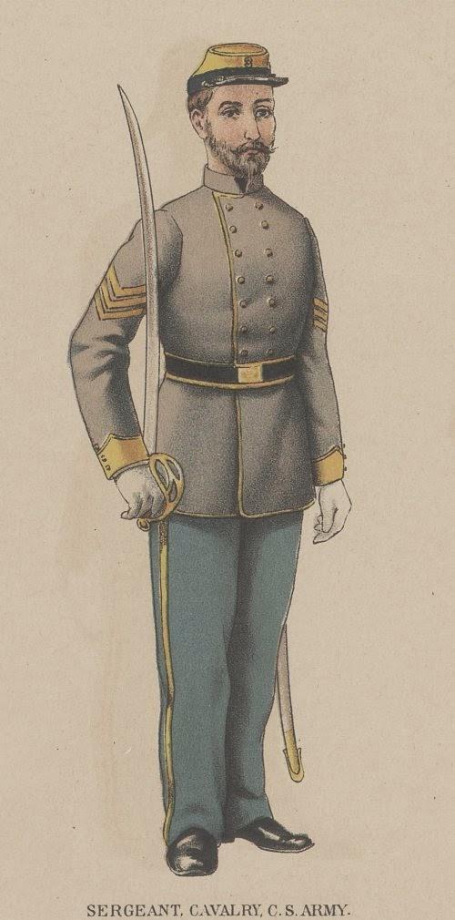 Confederate Sergeant Cavalry picture 2