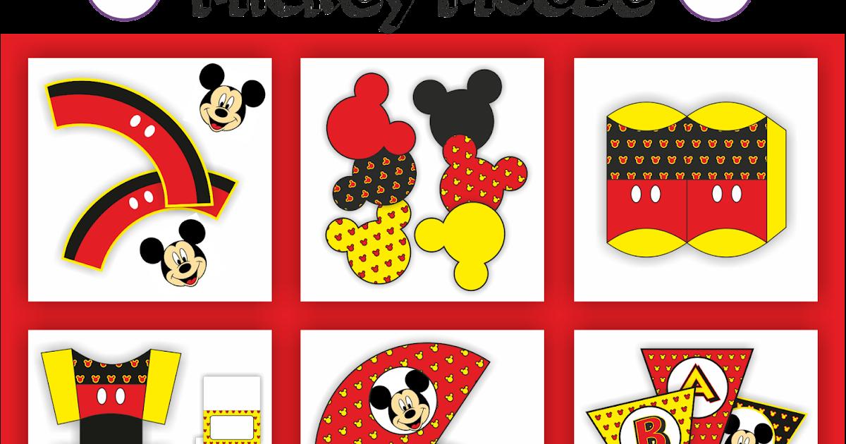 Kit freebies mickey